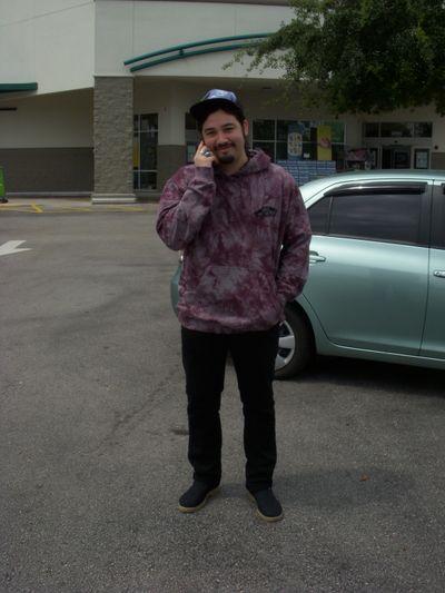 Nic tie-dye hoodie