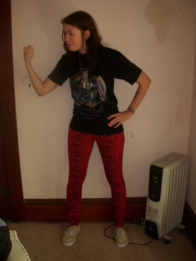 Beverly red pants