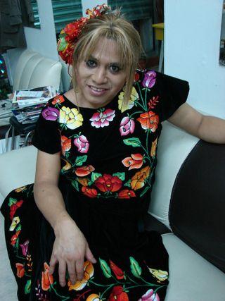 Hombres Vestidos De Mujer Oaxaca Vestidos Novia